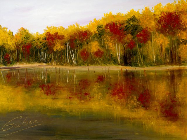 Hampton, N.B., Fall Reflection 2 (2003)