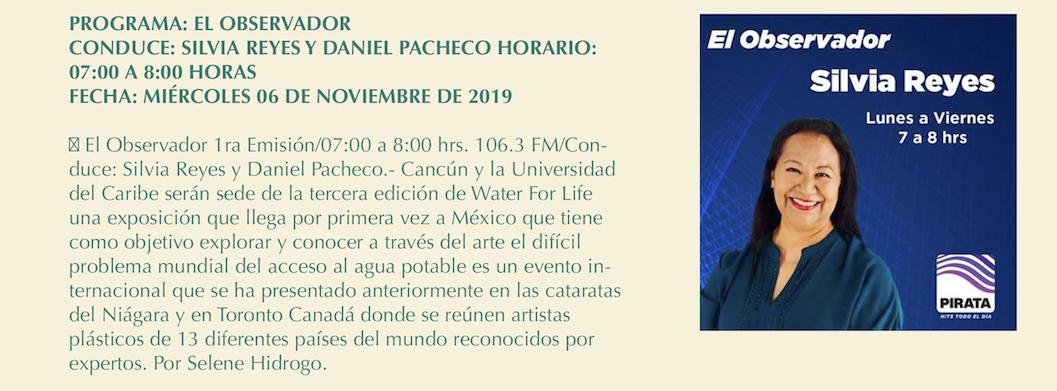 El Observador 5 November 2019 El Observador, 106.3 FM