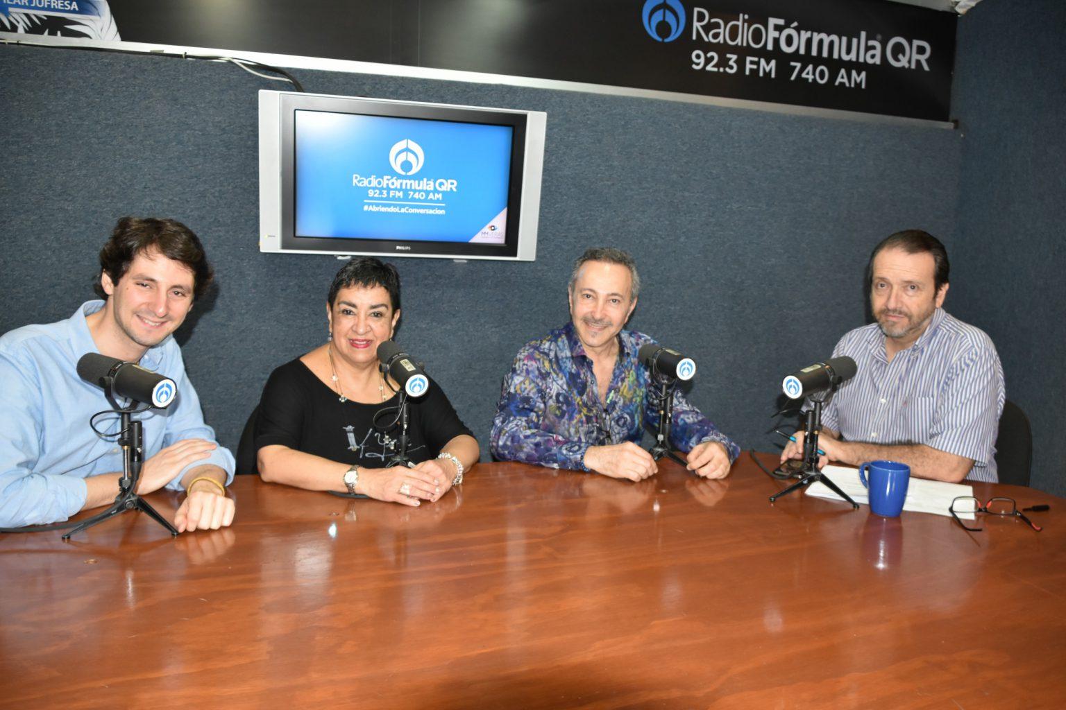Radio Fórmula QR 5 November 2019 Radio Fórmula QR, 92.3 FM 740 AM