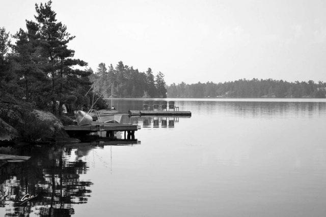 Summer Scene Muskoka Ontario 79