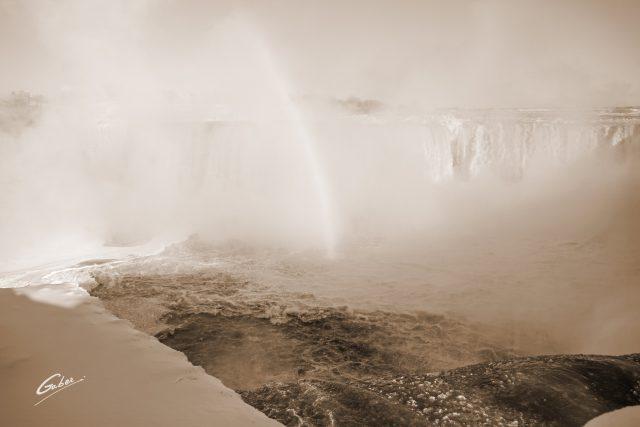 Winter Scenes, Niagara Falls, Canada, 2019  07