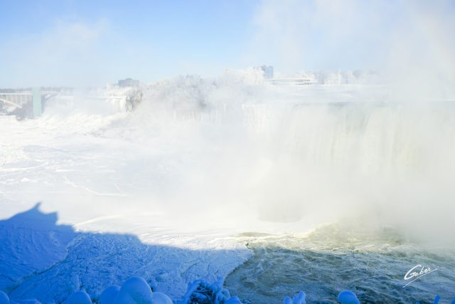 Winter Scenes, Niagara Falls, Canada, 2019  15