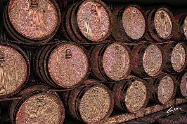 Wine Barrel Stack 2018 01