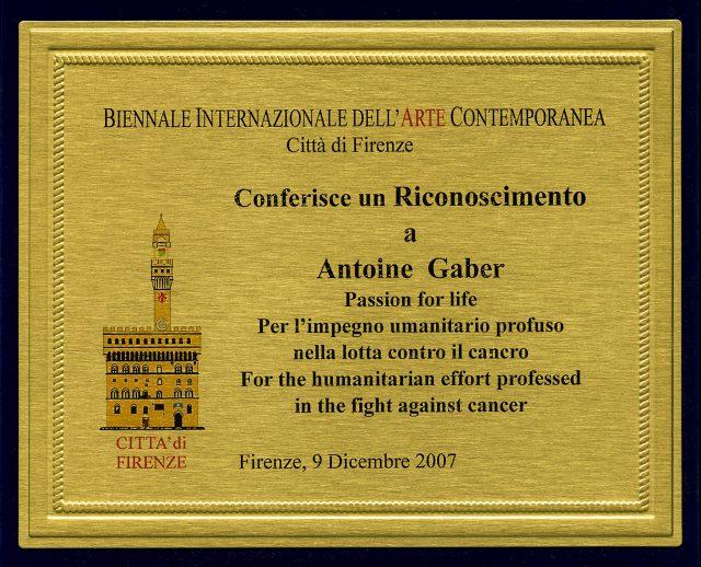 2007_Biennale 2007 Award_RECO_2007_01
