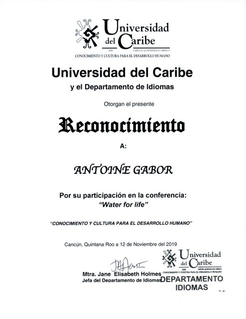 2019_Univ Caribe Cert 1_RECO_2019_01