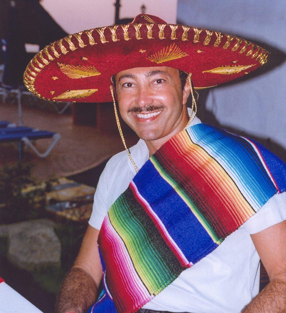 Antoine Gaber during his solo Exhibition in Cancun, Qunitana Roo, Mexico.