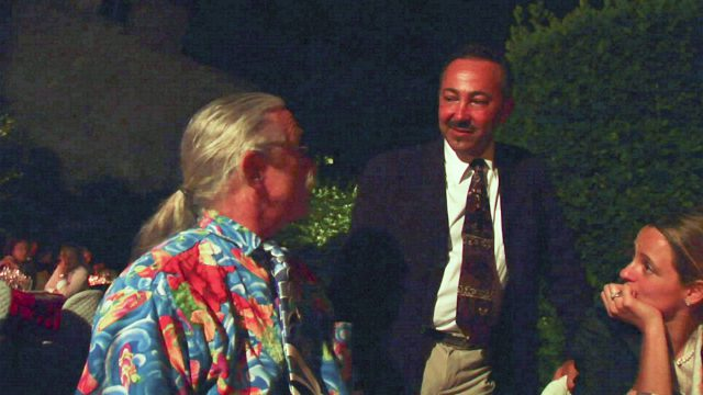 PASSION FOR LIFE fundraising official inauguration exclusive Gala Dinner with Antoine Gaber and Patch Adams