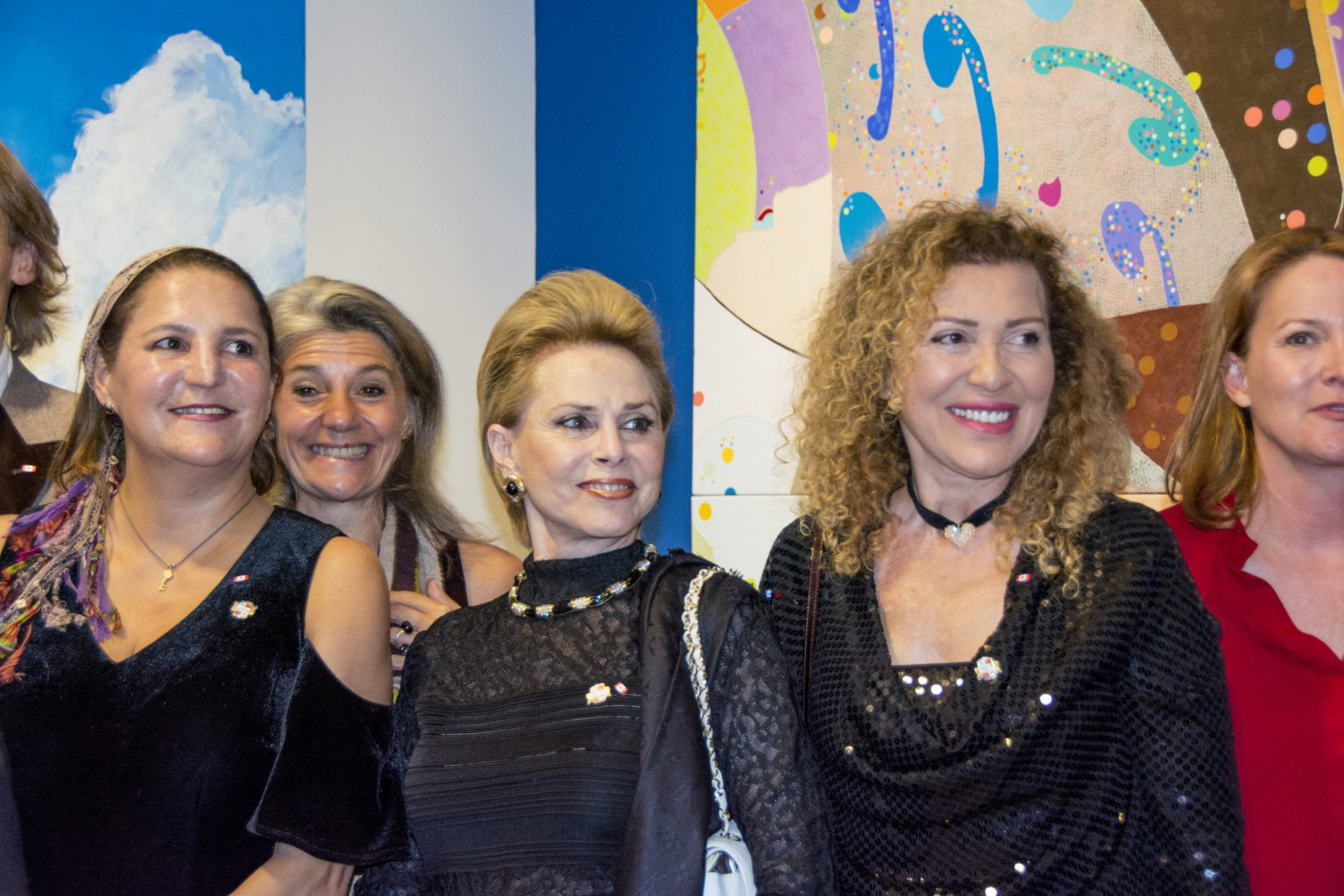 Water for Life, International Art Exhibition, First Edition,  wih some of the participating artists.