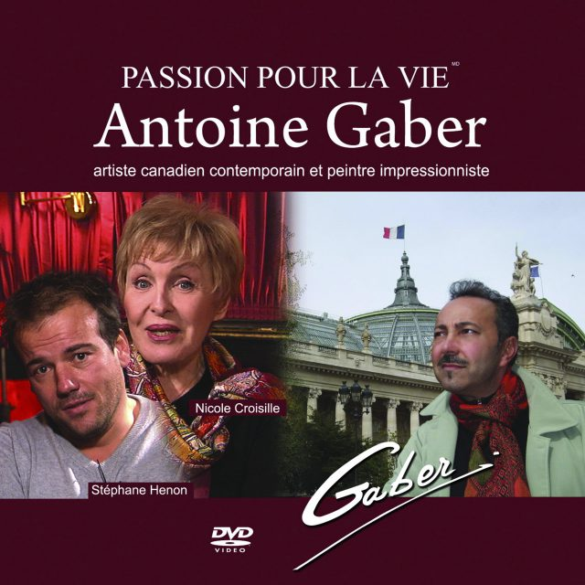 Video sleeve of the reportage on Antoine Gaber's Passion for Life exhibition in Paris.