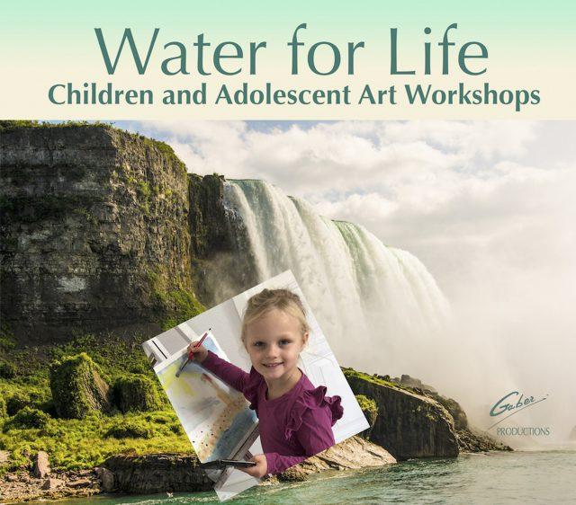 Water for Life, talleres de arte para niños y adolescentes, Niagara Falls, Ontario, Canadá