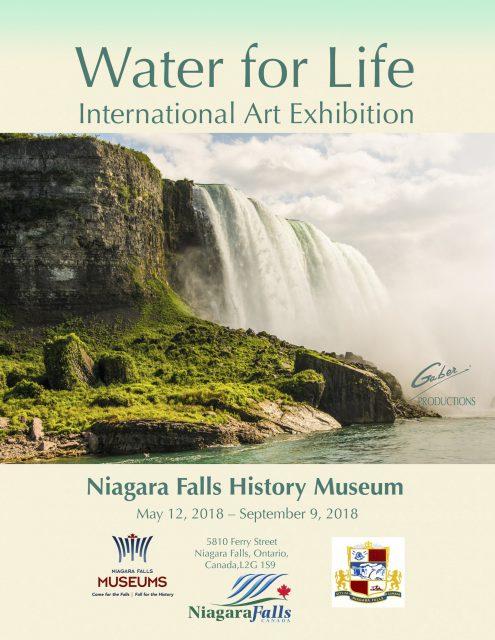 Water for Life, exposición internacional de arte, primera edición, páginas del catálogo.