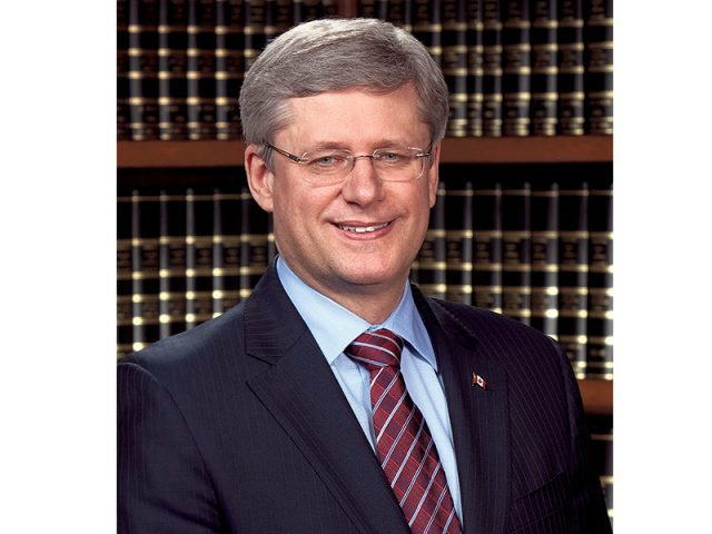 The Prime Minister of Canada The Rt. Hon.,Stephen Harper